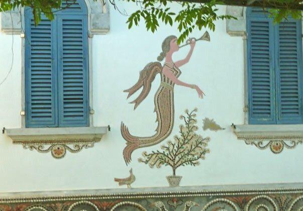 Detail alte Villa Nisporto Ferienwohnung Ref. 112305-49