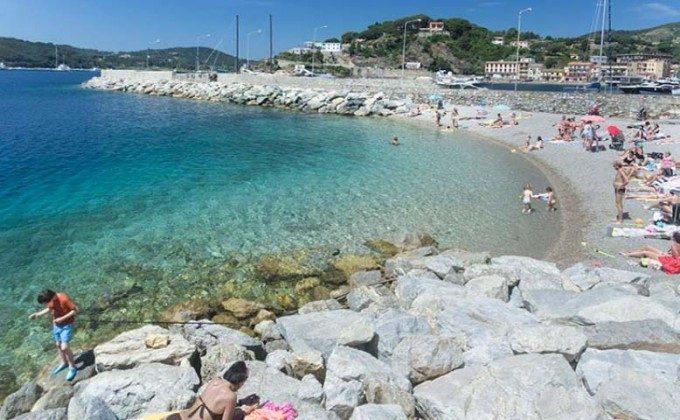 Strand La Pianotta Elba Porto Azzurro Ferienwohnung Ref. 112305-54