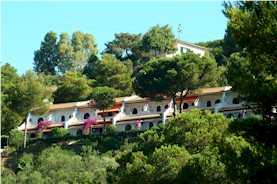 Elba Appartment in Anlage mit Pool Pavillon der Wohnungen Typ A und B