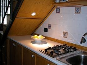 Apartment Benedetta Kuechenzeile