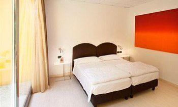 Ferienapartments Gardasee Typ A Schlafzimmer