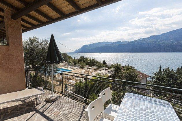 Wohnung Typ A Balkon  Malcesine Ferienanlage nah am See Ref. 28205-2