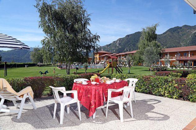 Italien Ferienwohnung am Gardasee Terrasse
