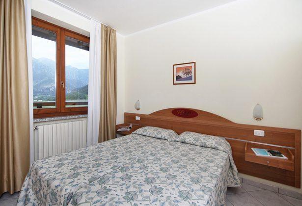 Italien Ferienwohnung am Gardasee Residence Tremosine Schlafraum