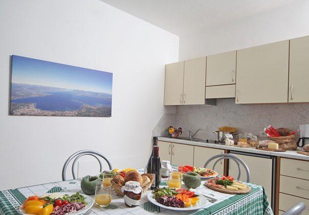 Italien Ferienwohnung am Gardasee Residence Tremosine Küche