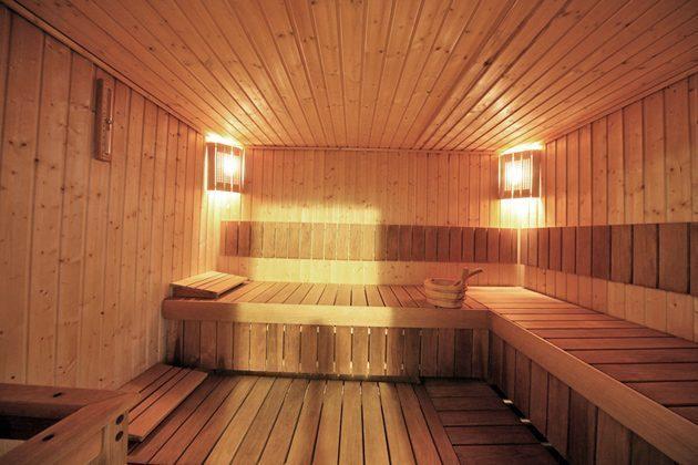 Italien Ferienwohnung am Gardasee Residence Tremosine Sauna