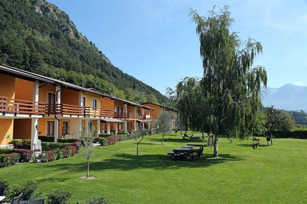 Italien Ferienwohnung am Gardasee Residence Tremosine Außenansicht