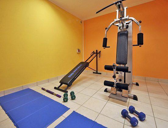 Italien Ferienwohnung am Gardasee Residence Tremosine Fitness