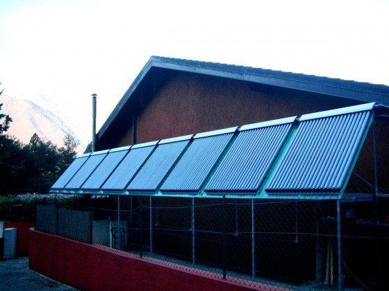 Unsere Solarwarmwassererzeugung