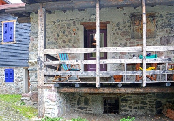 Balkon Ferienhaus Teresa 2217