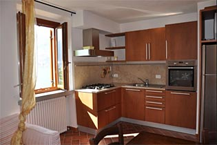 Apartment Monte Isola Küche
