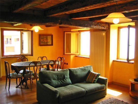 Wohnzimmer Ferienwohnung Siena