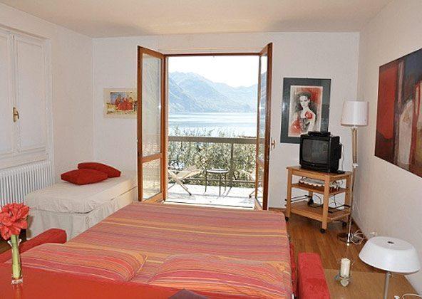 Schlafzimmer Ferienwohnung Iseosee 65162-4