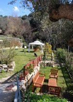 Cilento Nationalpark Ferienvilla Garten
