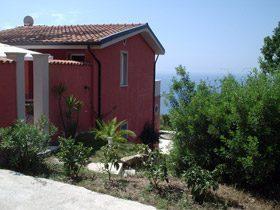 Cilento Ispani Ferienwohnung Eingang