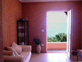 Cilento Ispani Ferienwohnung Wohnbereich