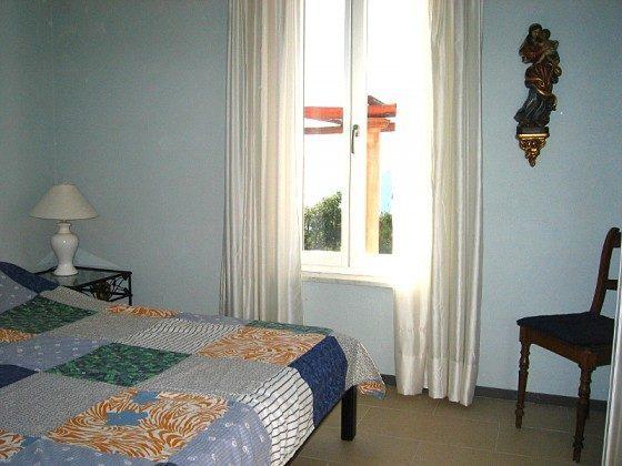 Cilento Ispani Ferienwohnung Schlafbereich