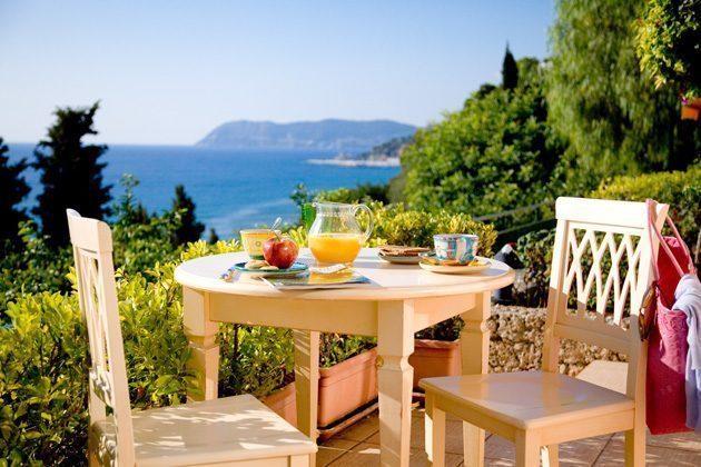 Rivera Ferienwohnung Terrasse