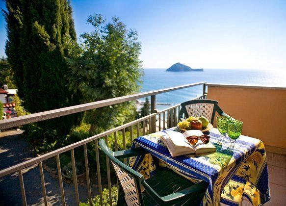 Rivera Ferienwohnung Balkon