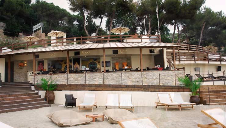 Restaurant der Anlage