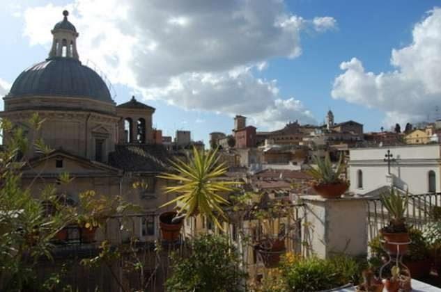 Ausblick : Ferienappartement Rom