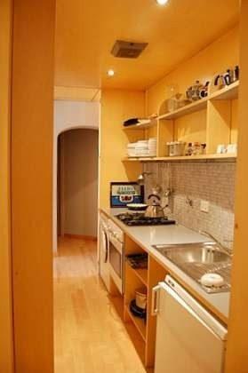 Küche : Ferienappartement Rom