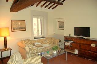 Italien Rom Apartment, Ref. 1013, Wohnraum