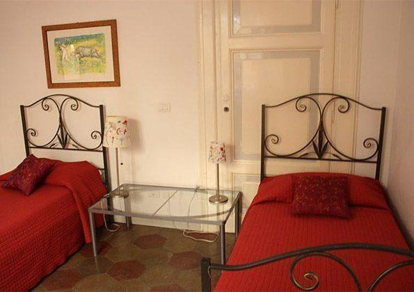 Schlafzimmer Einzelbetten a Ferienwohnung Rom 3573-20 / 985