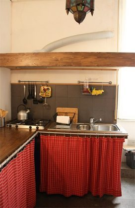 Küche c Ferienwohnung Rom 3573-20 / 985