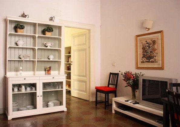 Wohnzimmer a Ferienwohnung Rom 3573-20 / 985