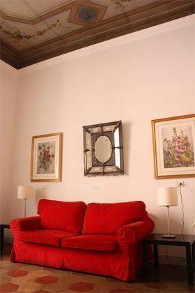 Wohnzimmer c Ferienwohnung Rom 3573-20 / 985