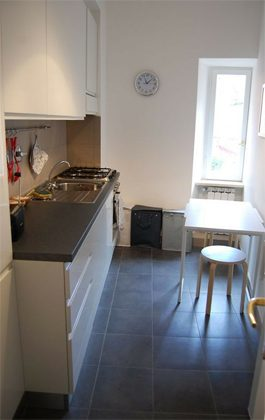 Küche b Ferienwohnung Rom Pantheon 3573-60 / 1122-