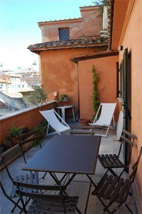 Terrasse b Ferienwohnung Rom Pantheon 3573-60 / 1122
