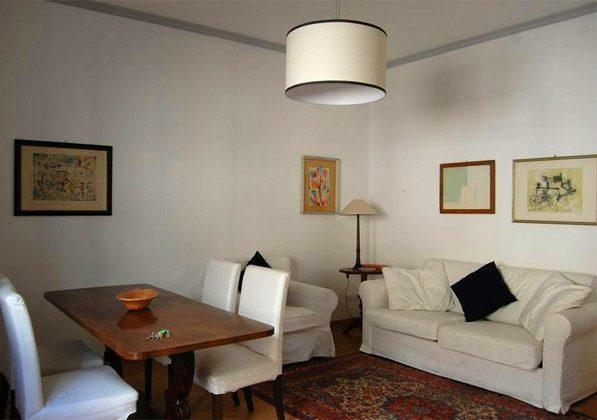 Wohnzimmer Ferienwohnung Rom Pantheon 3573-60 / 1122
