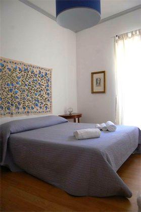 Schlafzimmer Doppelzimmer Ferienwohnung Rom Pantheon 3573-60 / 1122