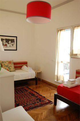Schlafzimmer Ferienwohnung Rom Pantheon 3573-60 / 1122