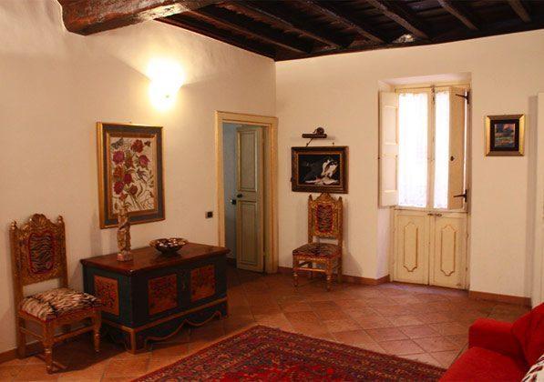 Wohnzimmer a Ferienwohnung Rom 3573-27 / 1382