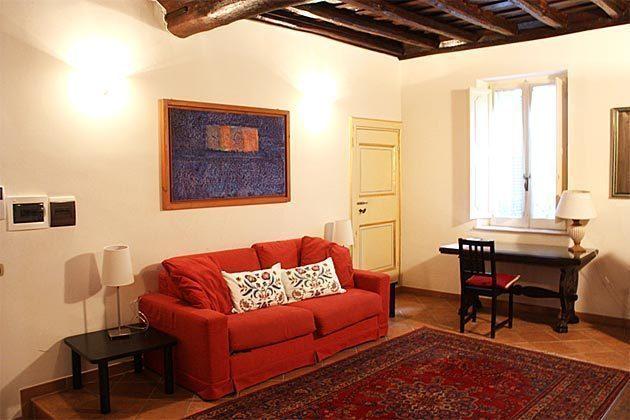 Wohnzimmer b Ferienwohnung Rom 3573-27 / 1382