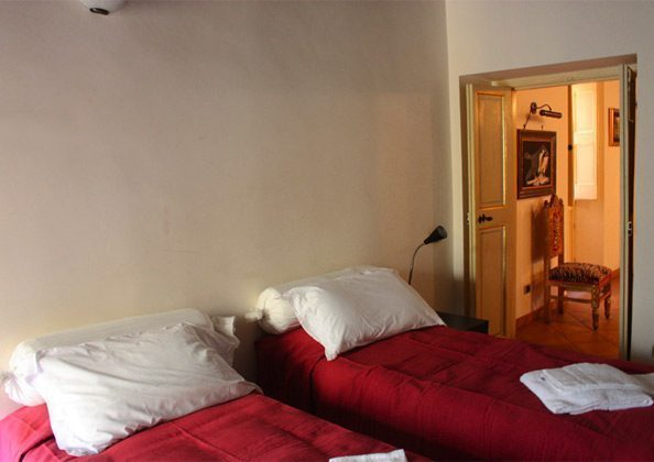 Schlafzimmer Einzelbetten a Ferienwohnung Rom 3573-27 / 1382