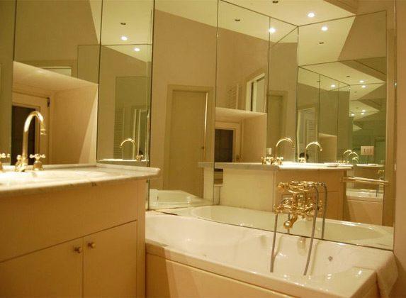 Badezimmer b Apartment Rom Spanische Treppe 3573-61 / 1584