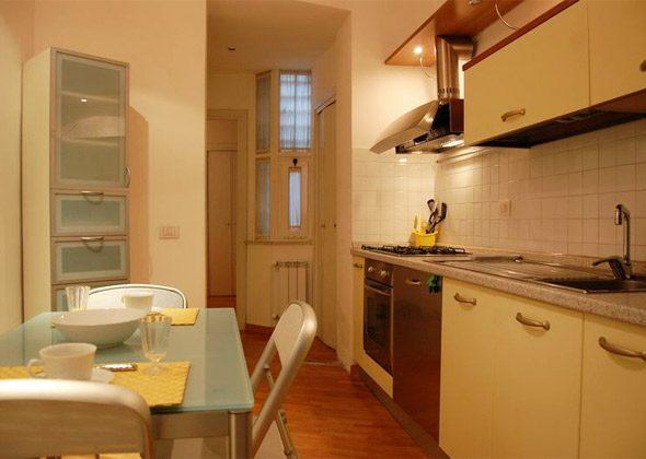 Küche a Apartment Rom Spanische Treppe 3573-61 / 1584