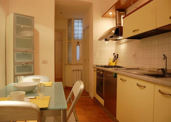 K�che a Apartment Rom Spanische Treppe 3573-61 / 1584