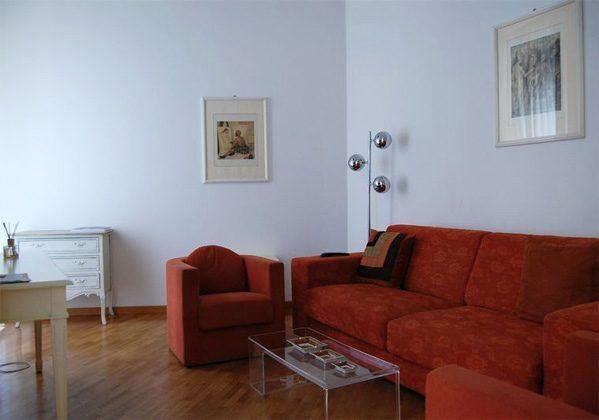 Wohnzimmer c Apartment Rom Spanische Treppe 3573-61 / 1584