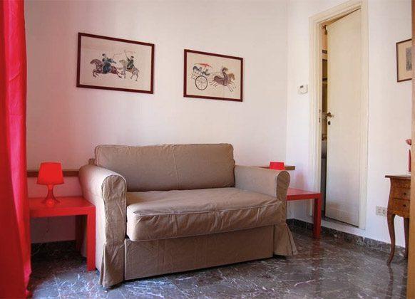 Schlafsofa a Ferienwohnung Rom spanische Treppe 3573-65 / 1542