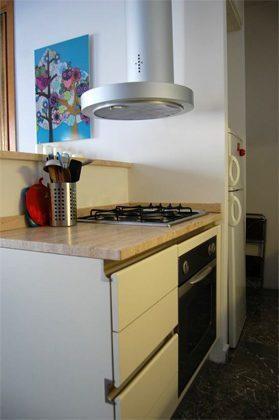 Wohnzimmer Küche Ferienwohnung Rom spanische Treppe 3573-65 / 1542