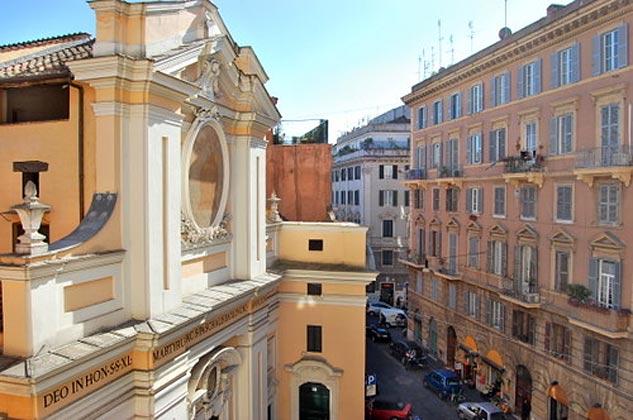 Ausblick Rom Ferienwohnung Ref. 3573-6 / 1406