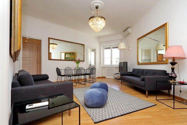 Rom Ferienwohnung Trastevere Ref: 108581-14 Wohnzimmer