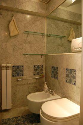 Badezimmer c Apartment Rom Trastevere 3573-62 / 1277