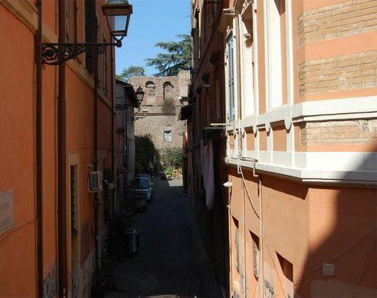 Straßenansicht Apartment Rom Trastevere 3573-62 / 1277