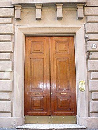 Rom Ferienwohnung Pius - Ref 3062-1 - Eingangstür